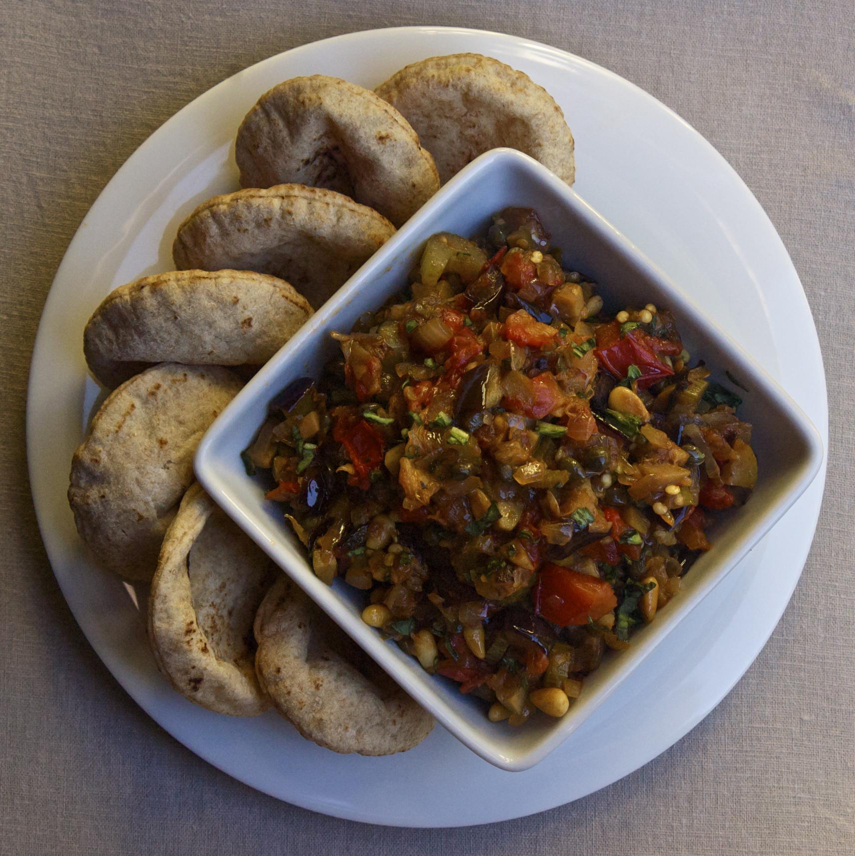 Eggplant Caponata | scarpetta dolcetto