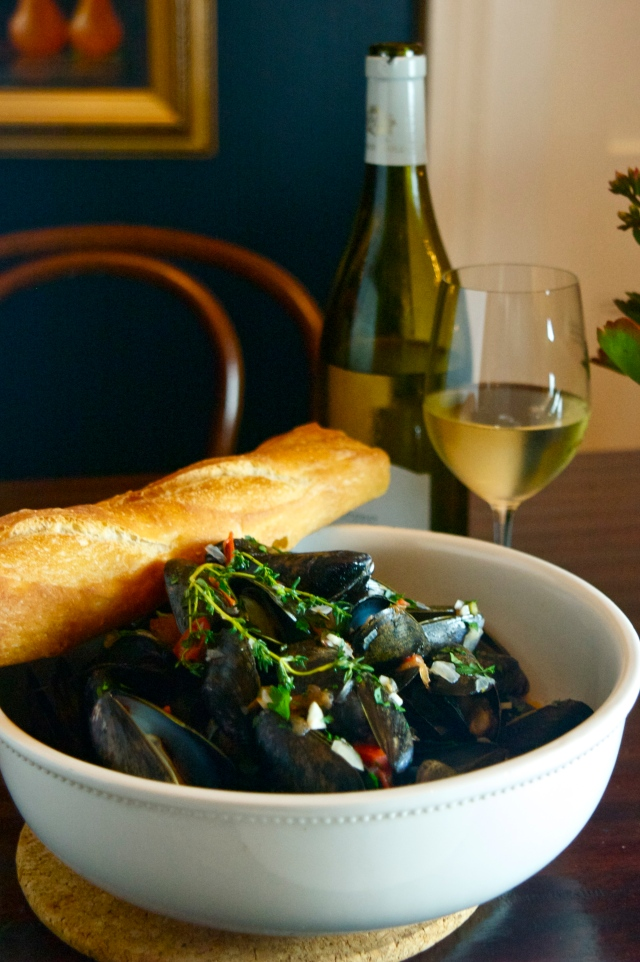 sancerre moules