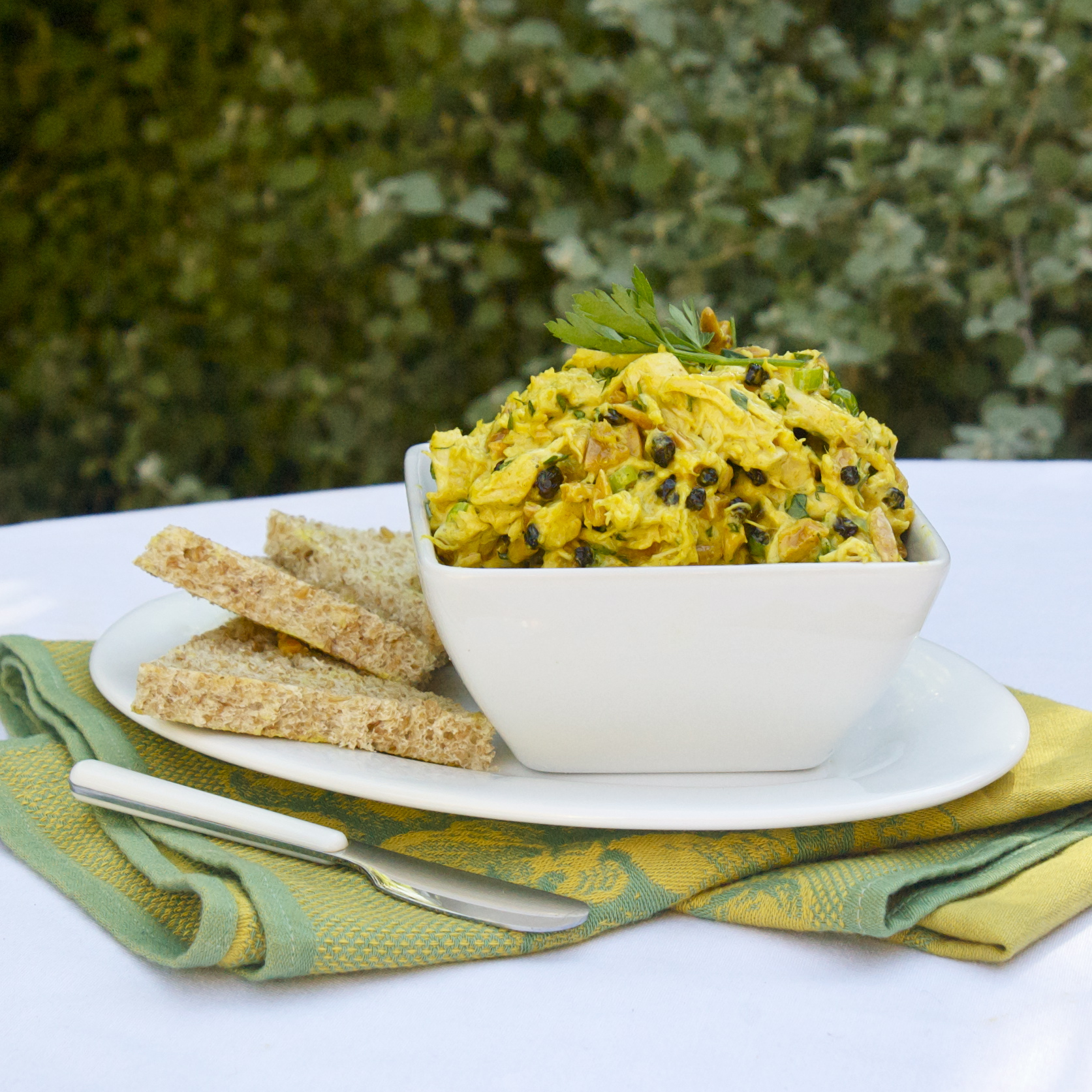 Curried Chicken Salad Scarpetta Dolcetto