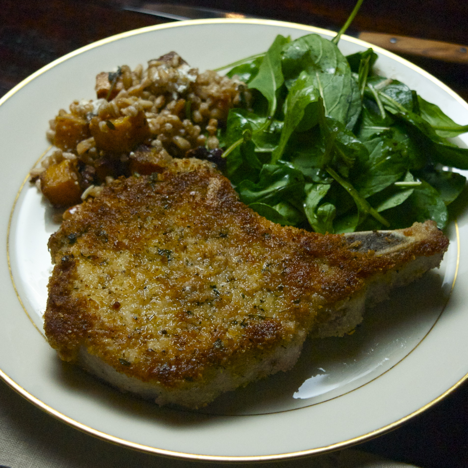 Herb-Crusted Pork Chops | scarpetta dolcetto