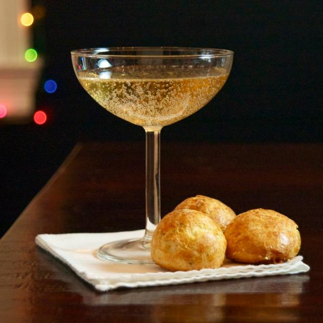 savory cheese puffs