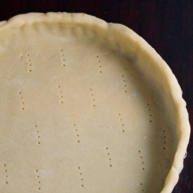 unbaked tart shell