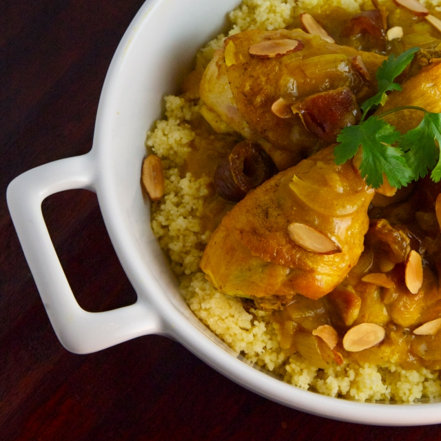 moroccan braise chicken