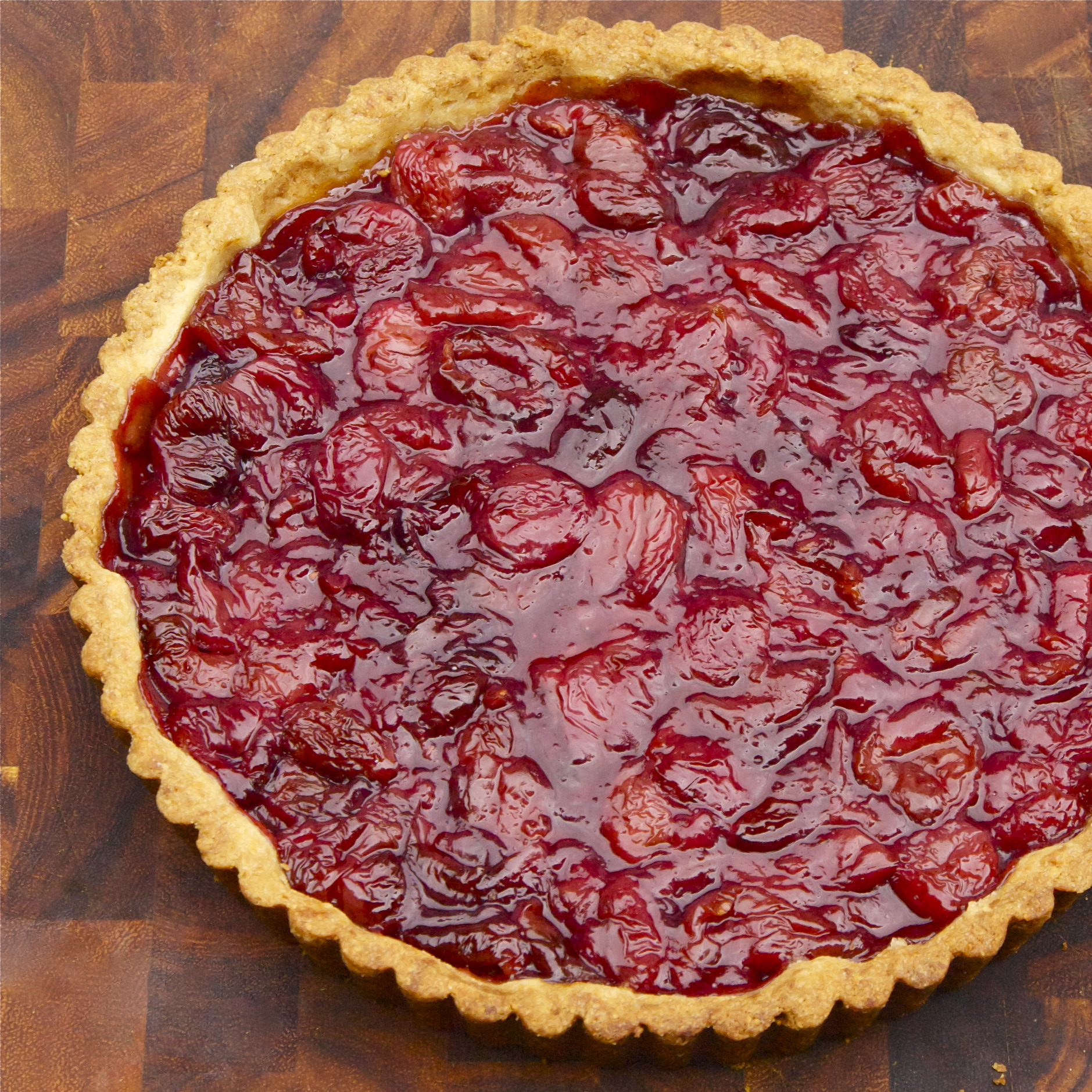 Sweet Cherry Tart