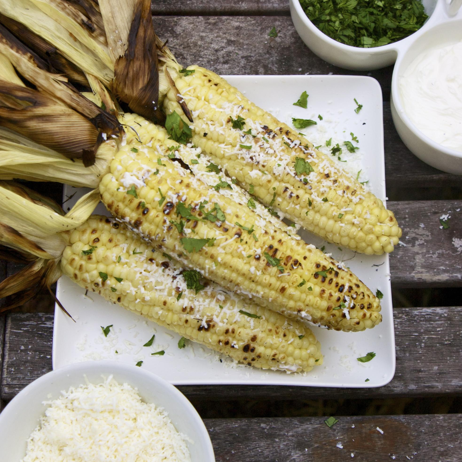 Mexican Grilled Corn | scarpetta dolcetto