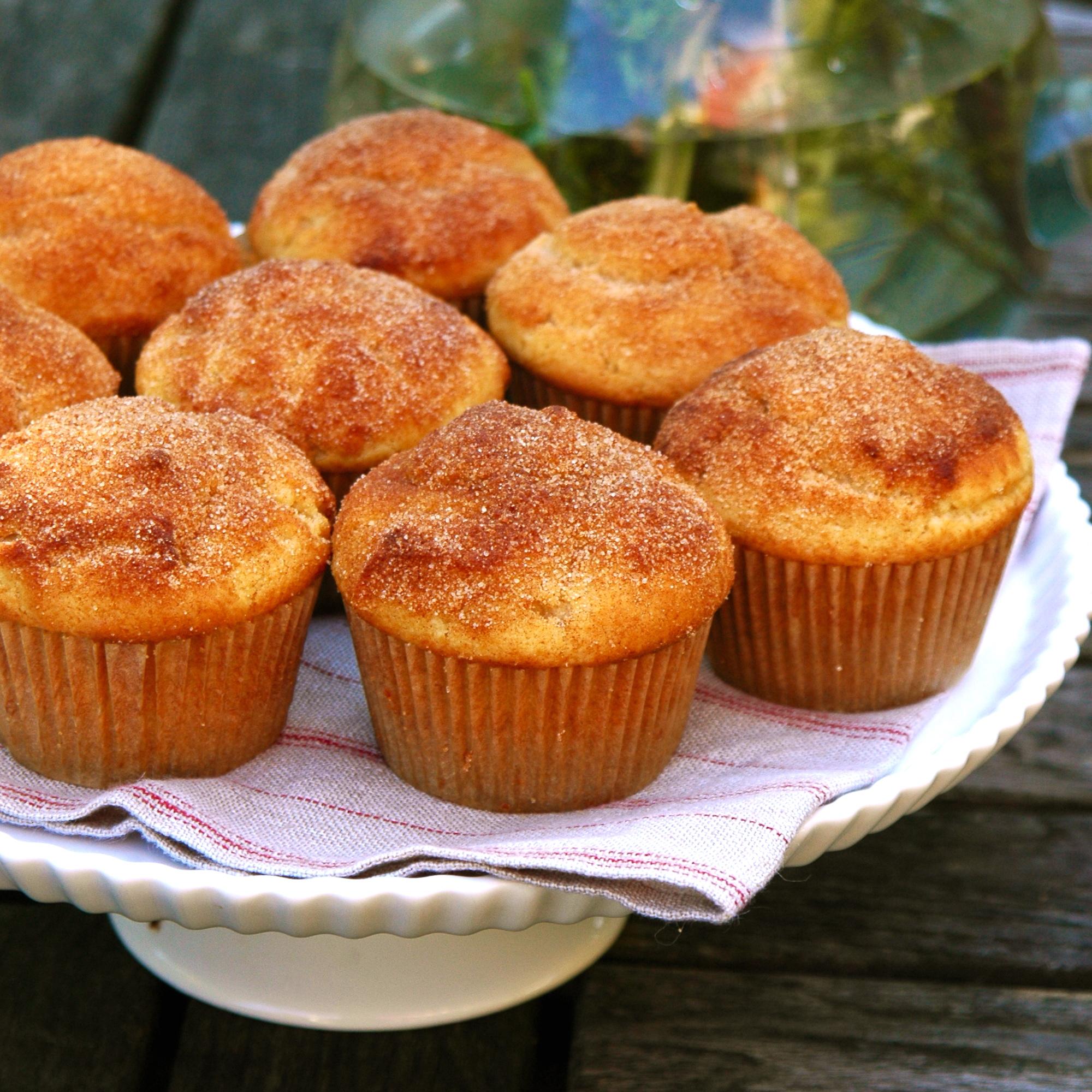 Doughnut Muffins | scarpetta dolcetto