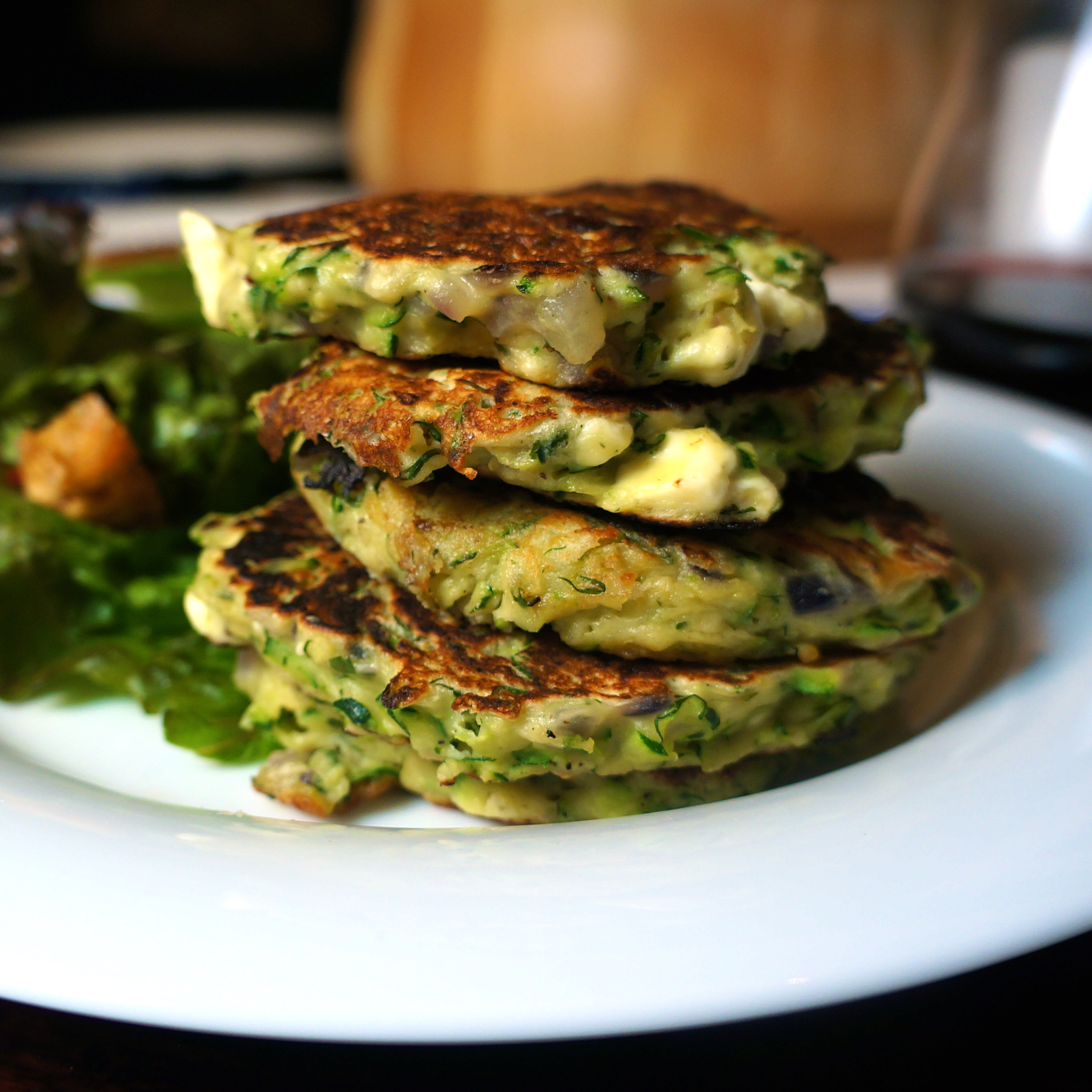 Quick Zucchini And Dill Pancakes Recipe — Dishmaps