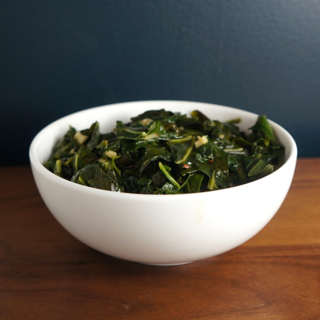 easy southern collard greens